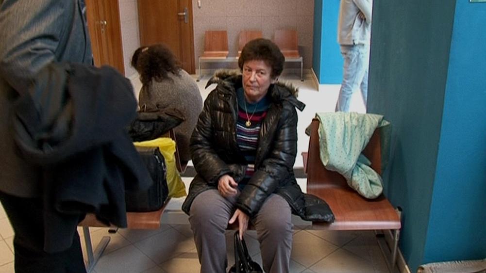 Lea Petříčková před soudem