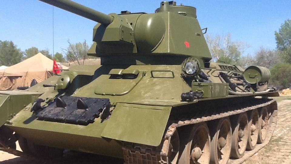 Sovětský tank T34