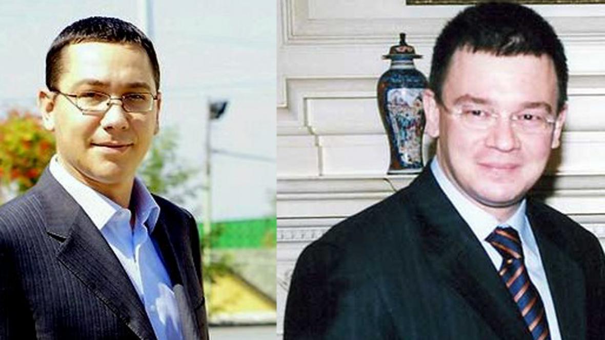Victor Ponta a Mihai Răzvan Ungureanu