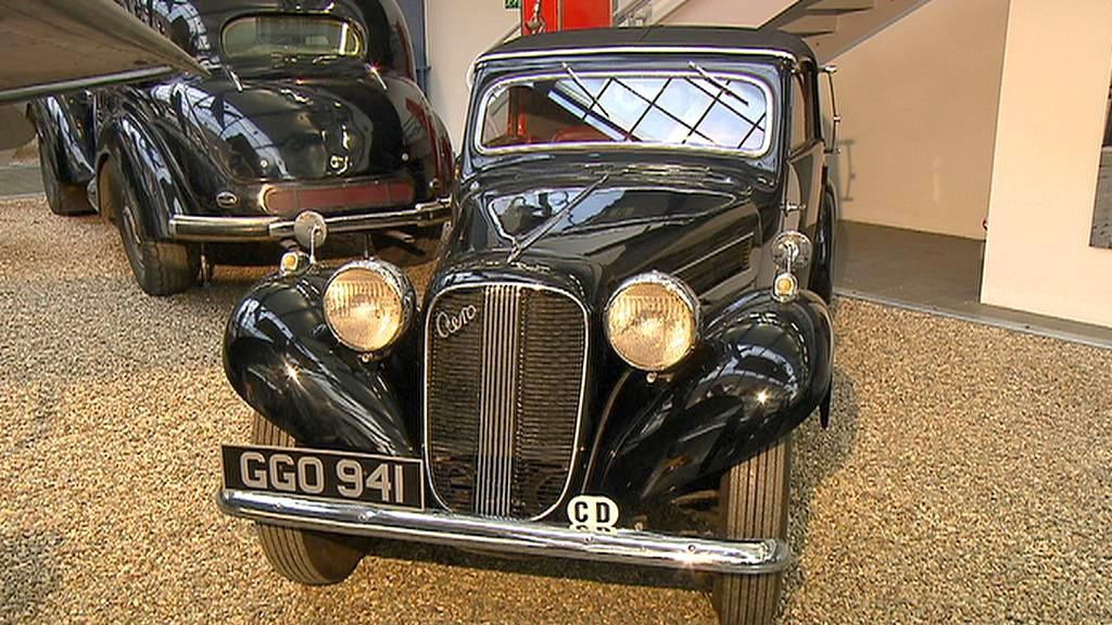 Automobil Aero 50 v Národním technickém muzeu