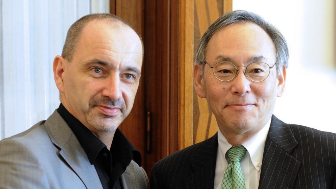 Martin Kuba a Steven Chu