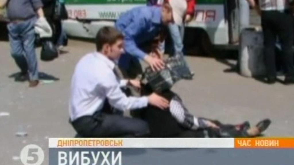 Výbuch v Dněpropetrovsku