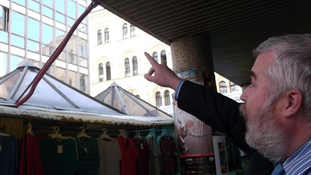 Na nevhodnou stavbu upozorňuje advokát Radek Ondruš