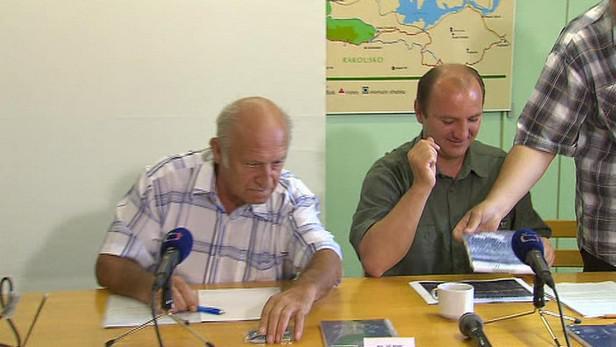 Předseda Národního parku Šumava a bývalý premiér jan Stráský