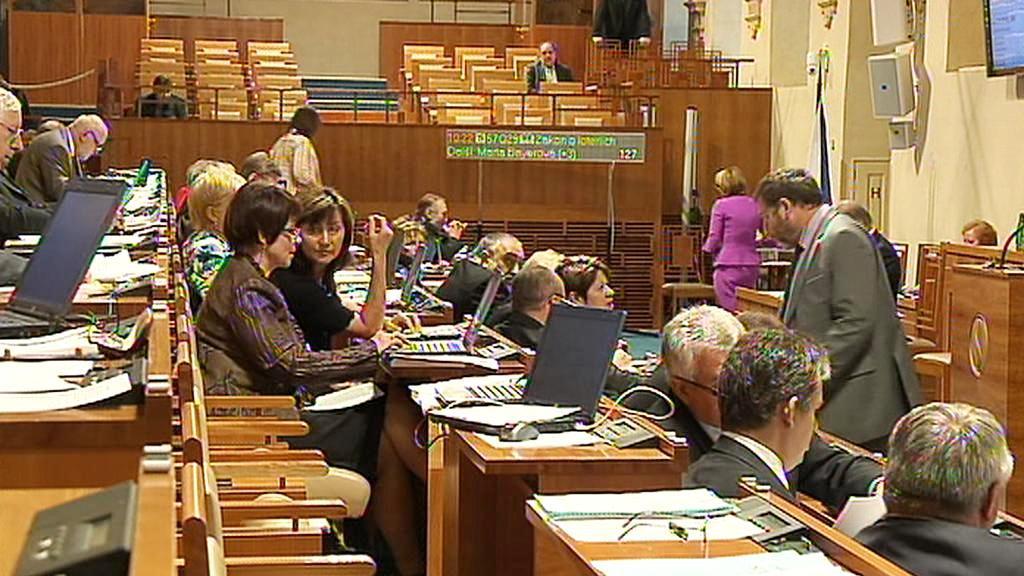 Jednání horní komory parlamentu