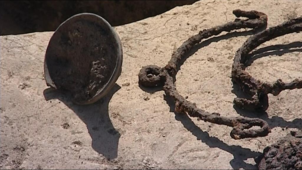 Nálezy germánských nástrojů ze 2. století