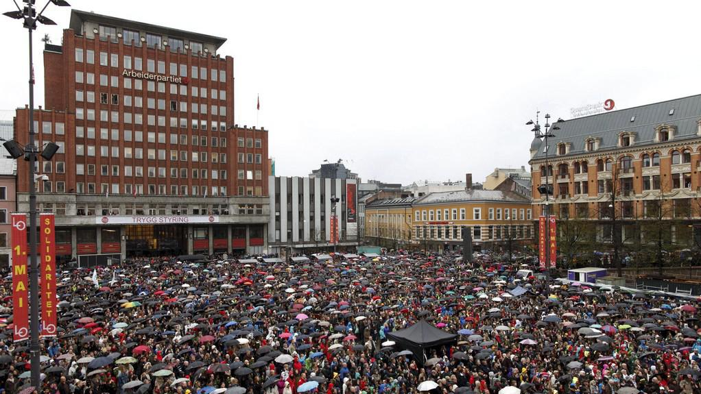 Protest proti Breivikovi
