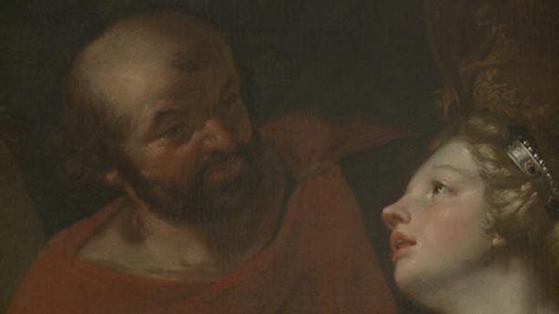 Jan Rudolf Bys / Penelope a její nápadníci (detail)