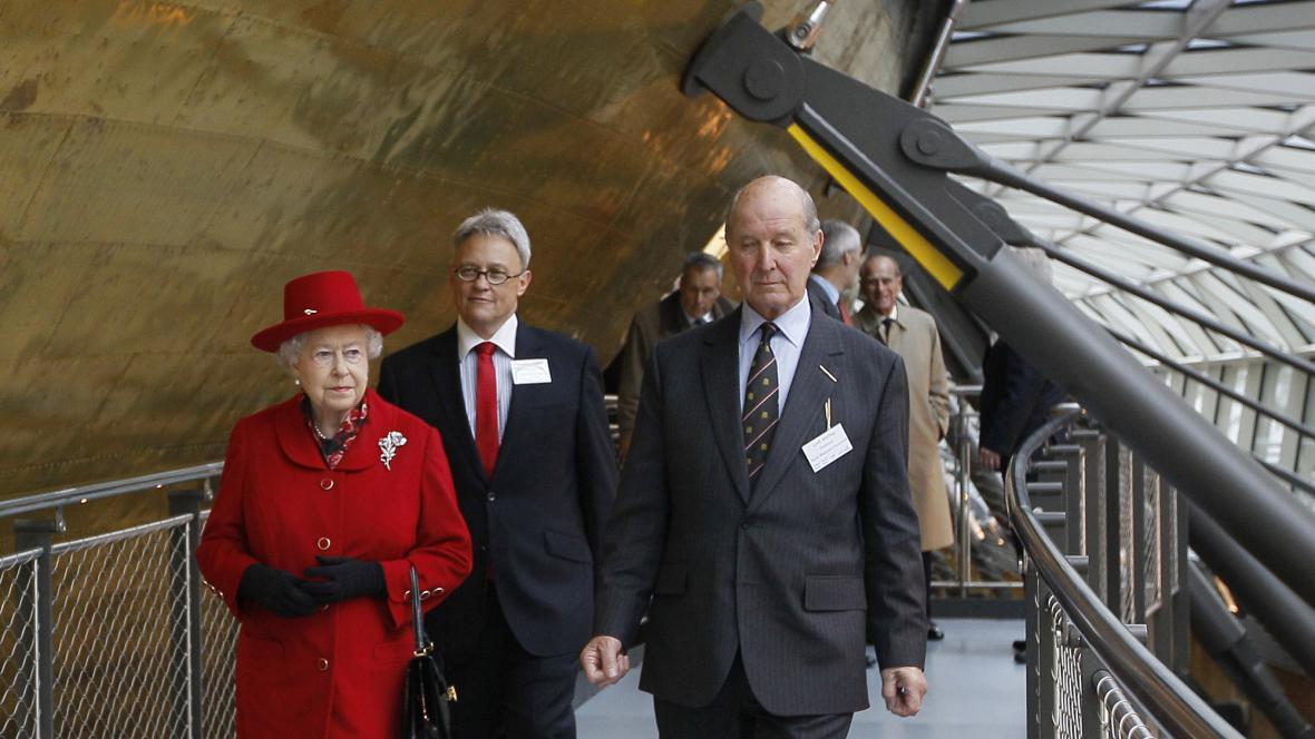 Královna znovu otevřela rekonstruovanou Cutty Sark
