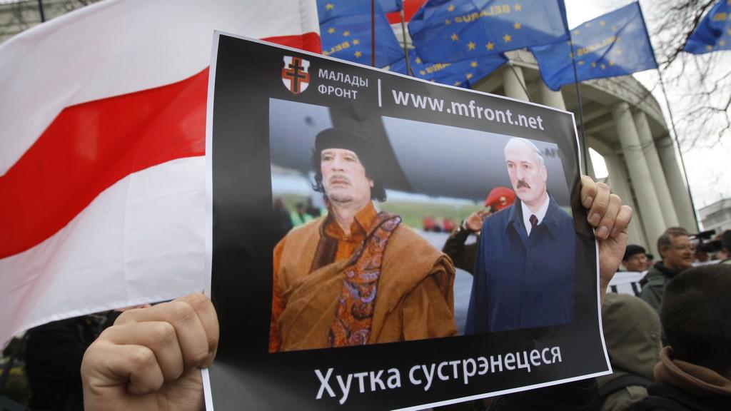 Demonstrace v Bělorusku