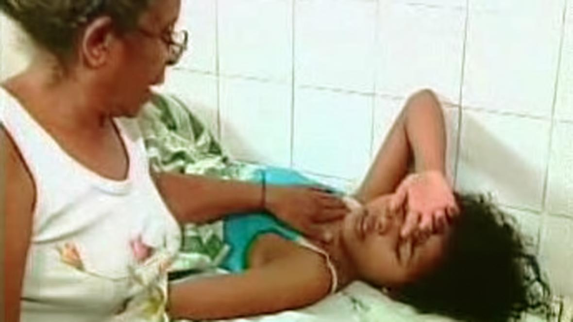 Brazilka trpící horečkou dengue