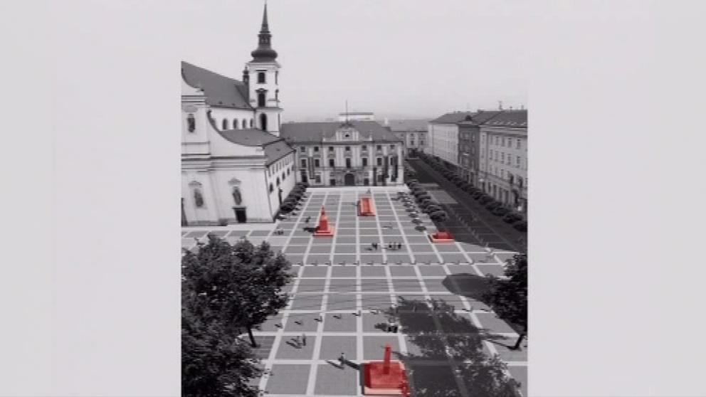 Architektonický návrh Moravského náměstí