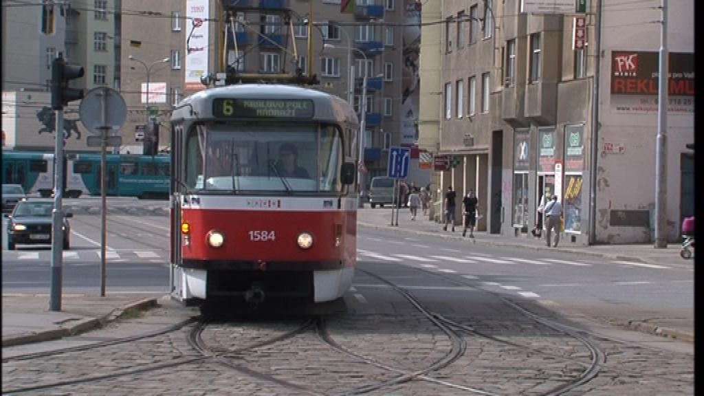 Městská hromadná doprava v Brně