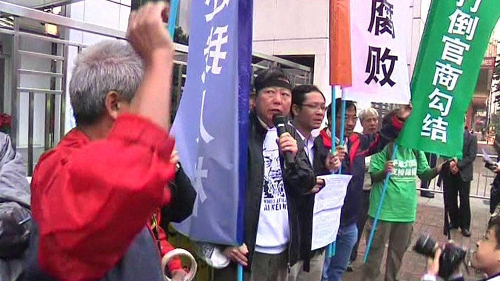 Protesty v Číně