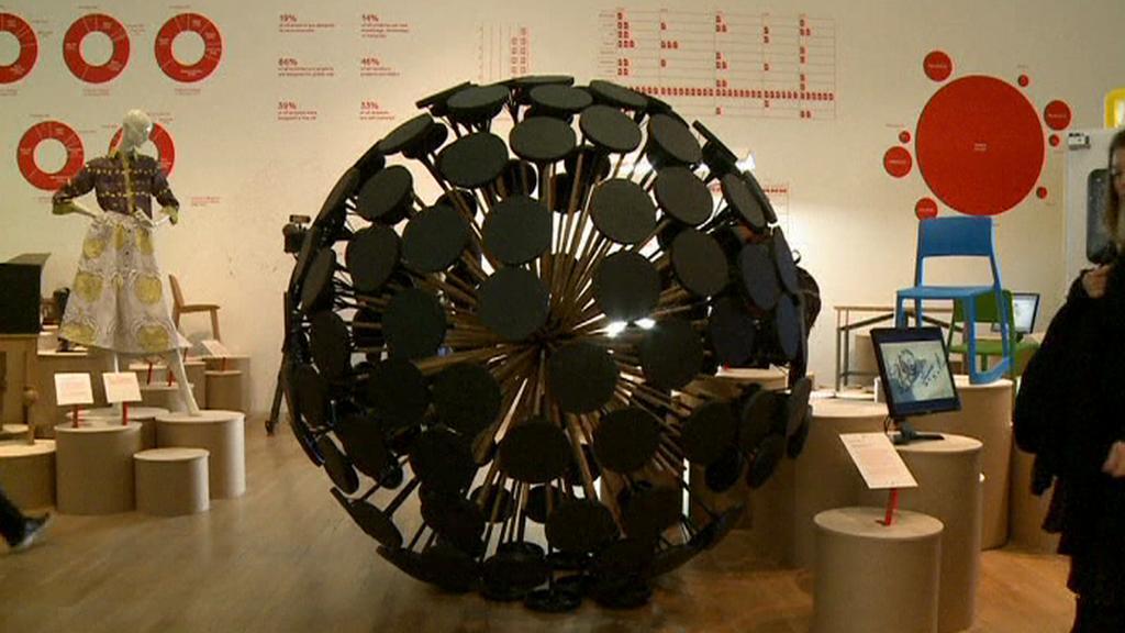 Z expozice v Muzeum designu v Londýně