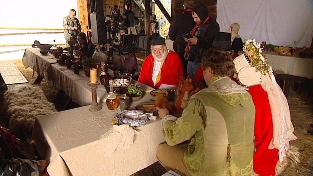Natáčení nové pohádky Kovář z Podlesí