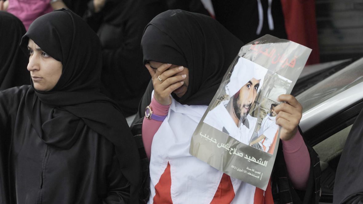 Pohřeb Bahrajnce