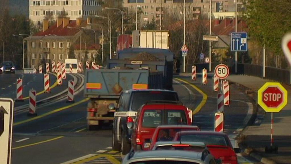 Dopravní komplikace ve Frýdku-Místku