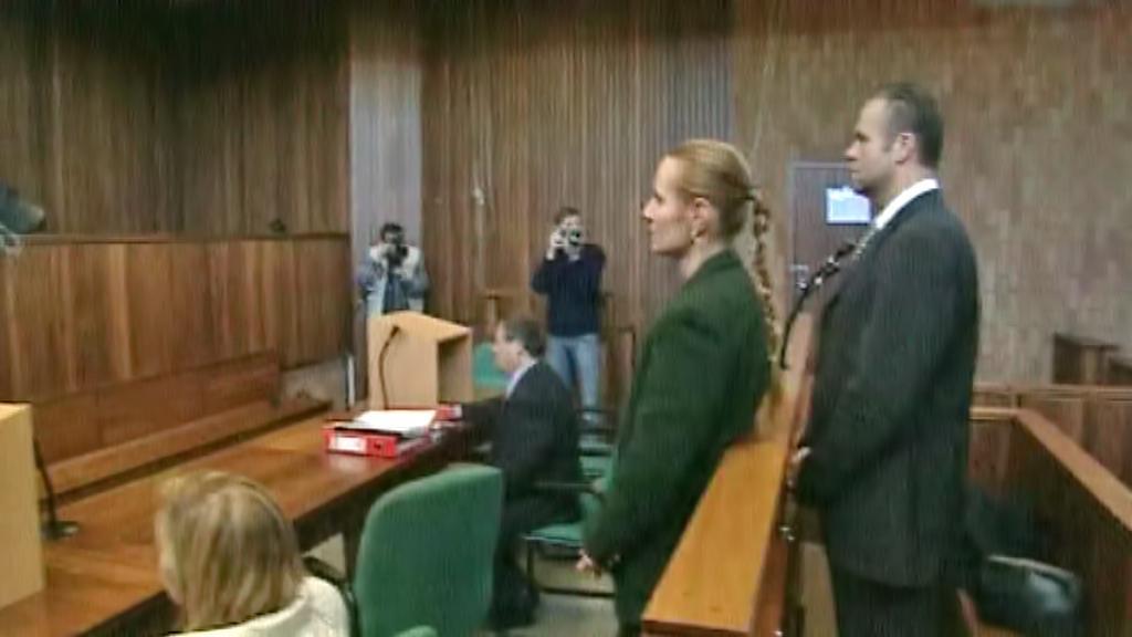Radovan Krejčíř před soudem