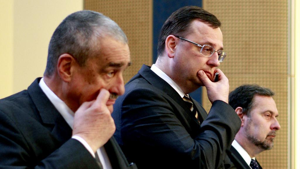 Karel Swarzenberg, Petr Nečas a Radek John