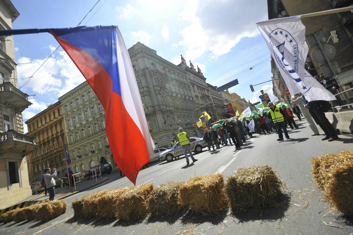 Protivládní demonstrace