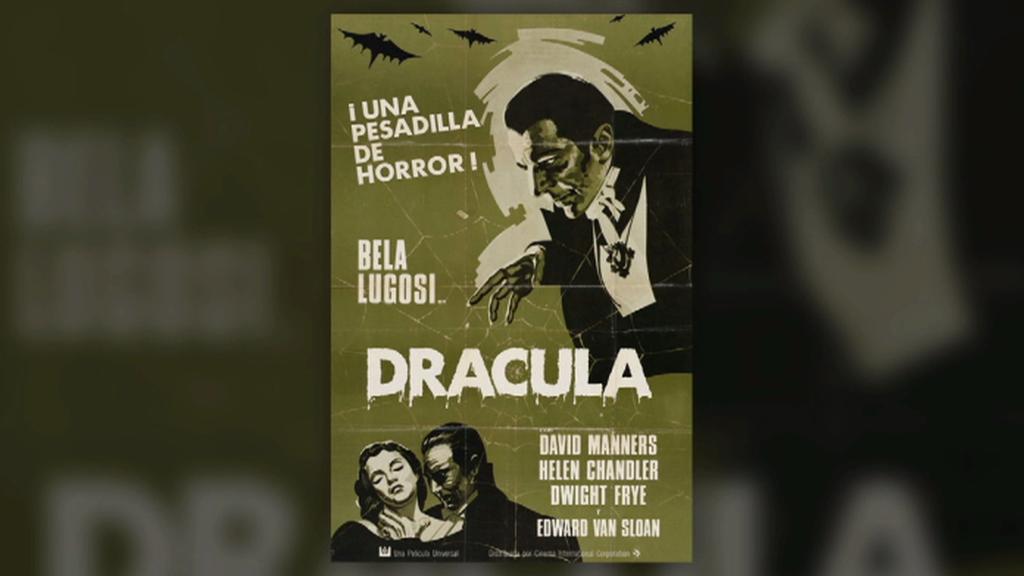 Jedno z vydání románu Dracula