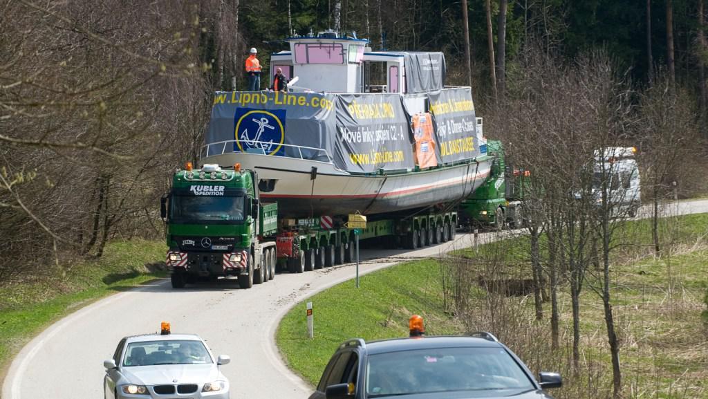 Transport lodi Adalbert Stifter