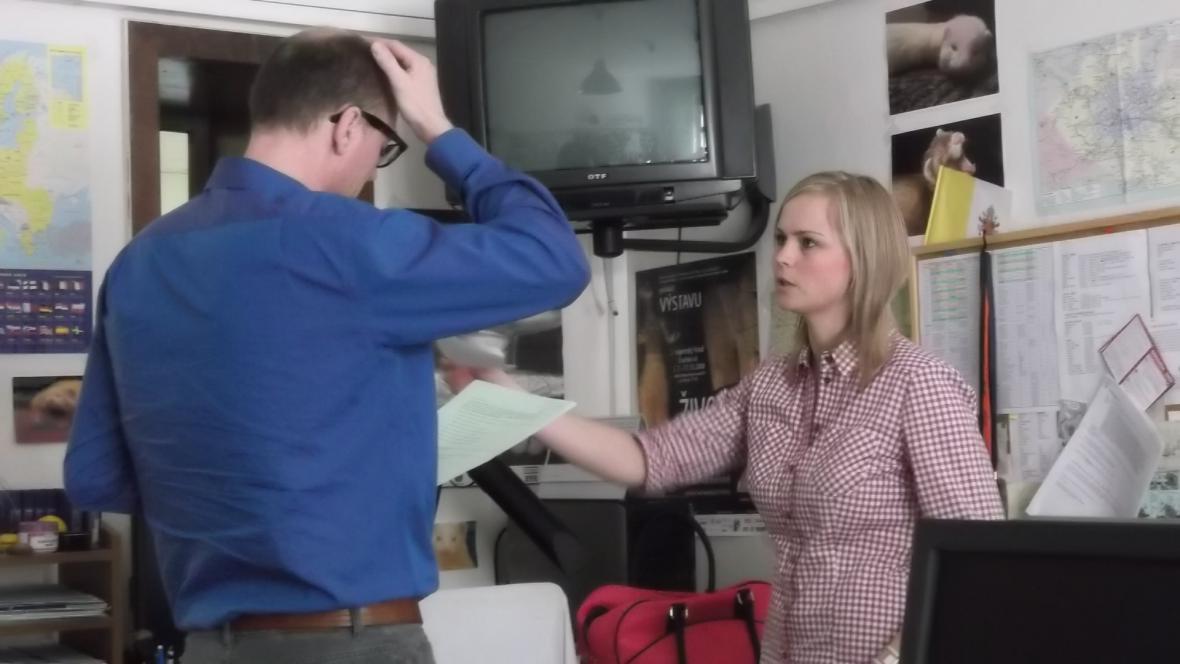 Debata dokumentaristy Roberta Kirchhoffa s redaktorkou Barborou Žítkovou
