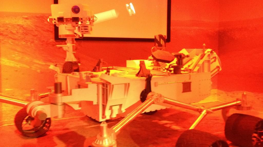 Robot pro práci na povrchu planety
