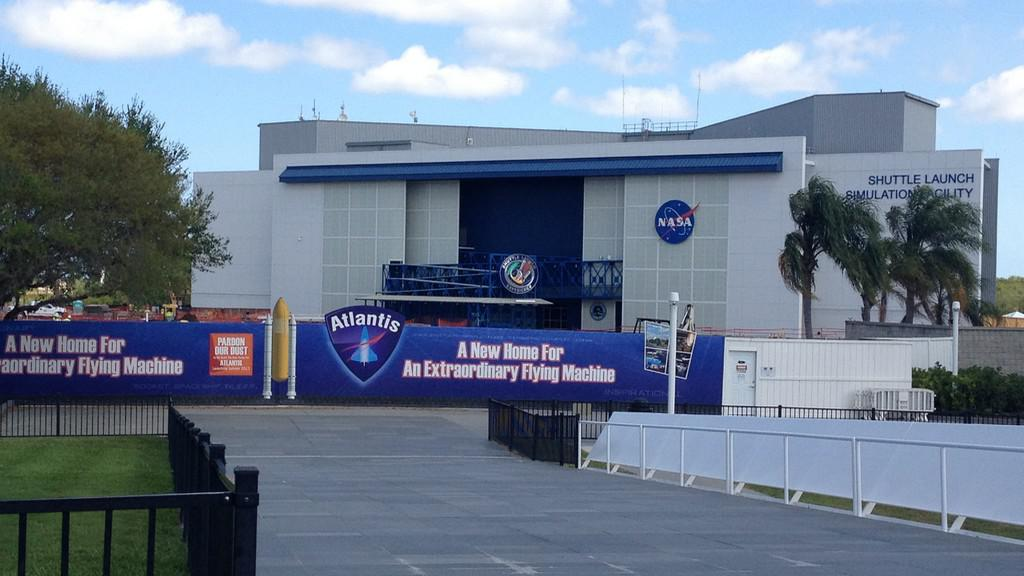 Centrum pro simulaci startu raketoplánu