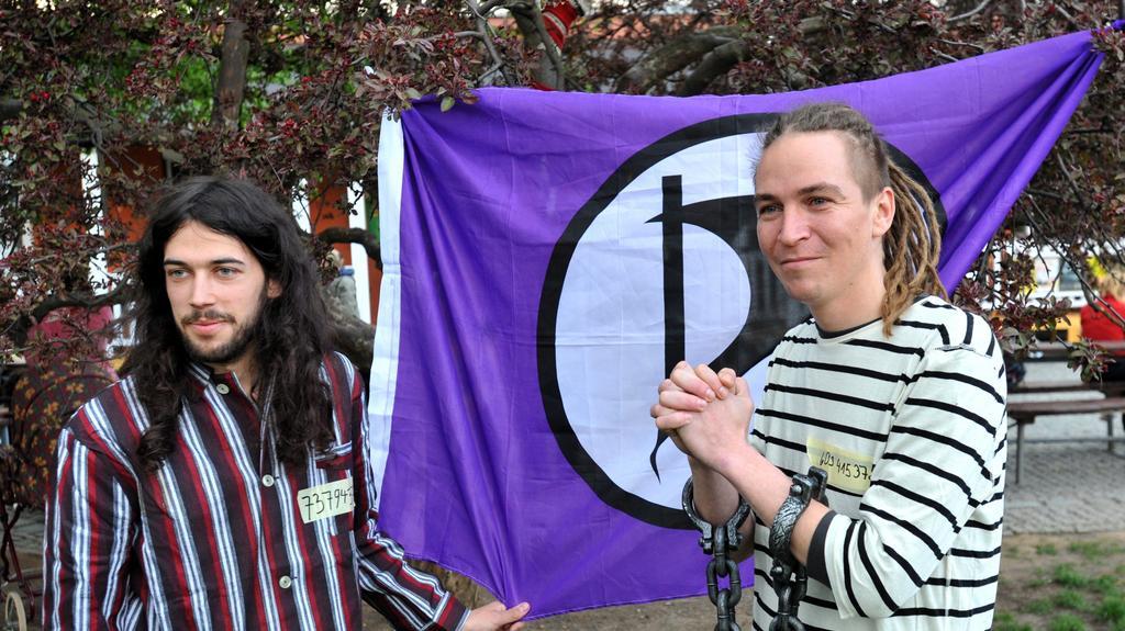 Protest České pirátské strany