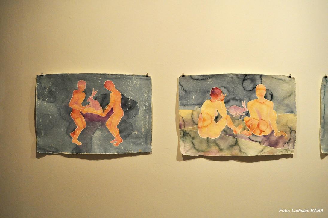 Z výstavy Tomáše Císařovského v Lounech