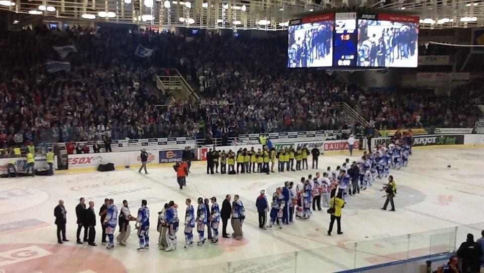 Poslední finálový zápas mezi Kometou a Pardubicemi