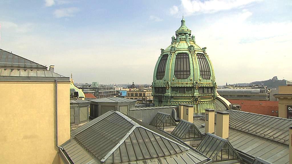 Obecní dům v Praze / střechy