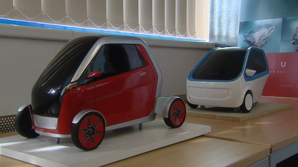 Studentský návrh elektromobilů pro šumavský park
