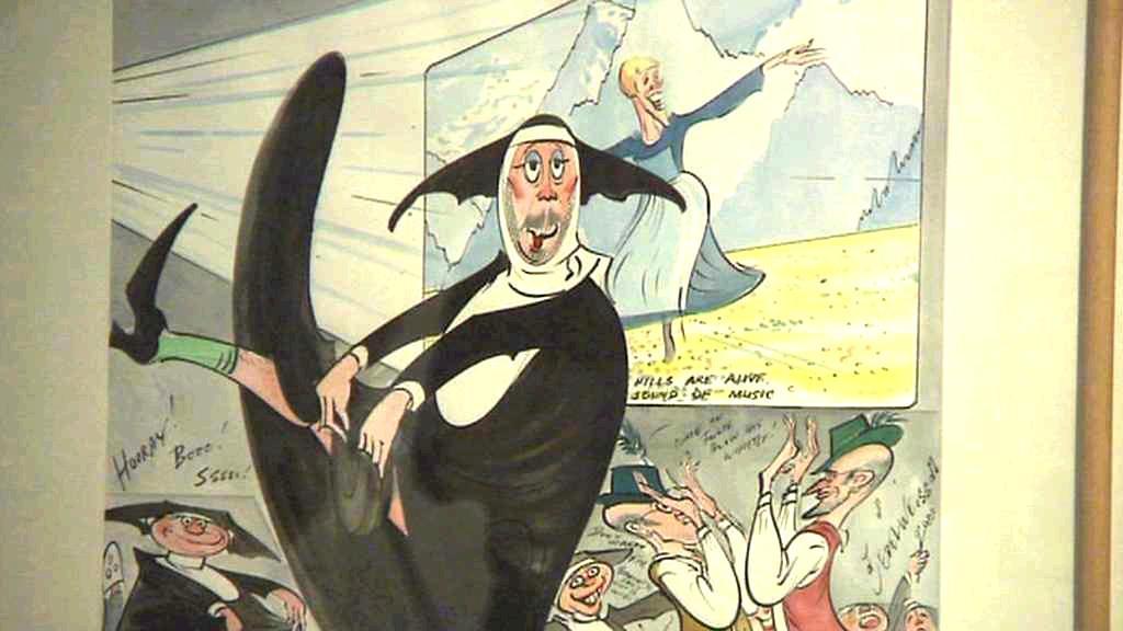 Gerald Scarfe - z expozice v Egon Schiele Art Centru