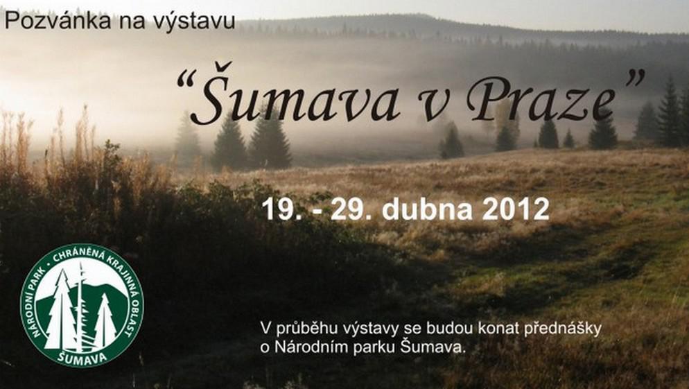 Výstava Šumava v Praze