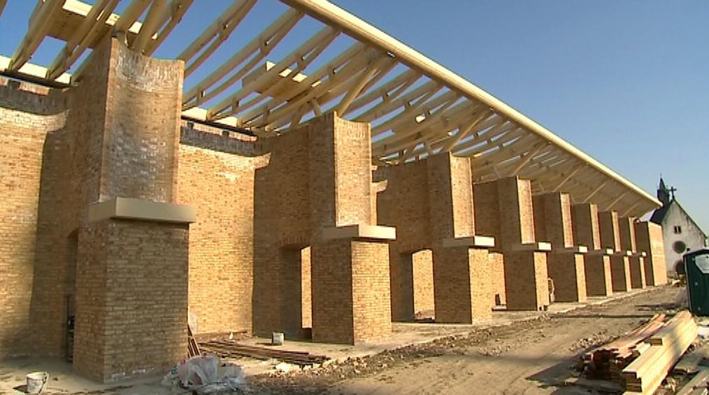 Stavební práce na Velehradě