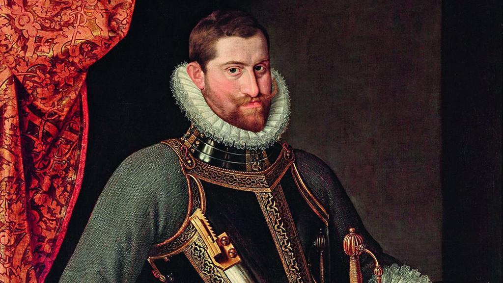 Portrét Rudolfa II.