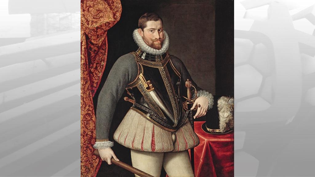 Objevený portrét Rudolfa II.