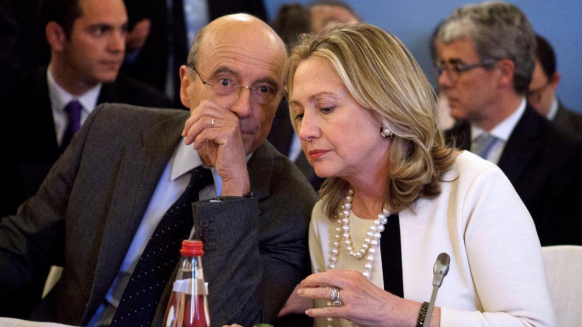 Alain Juppé a Hillary Clintonová