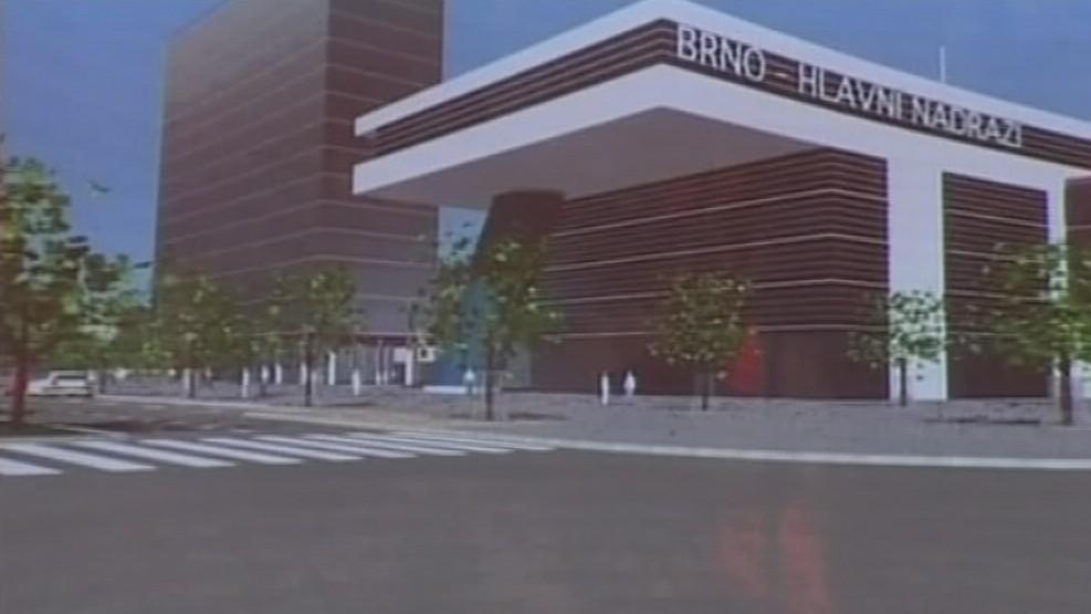 Budova nového nádraží
