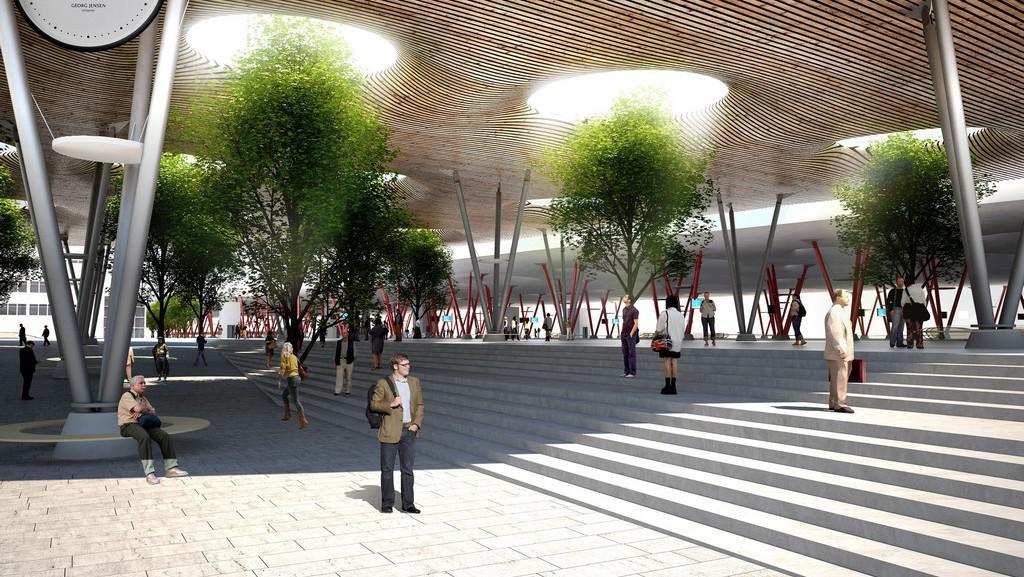 Návrh rekonstrukce brněnského nádraží