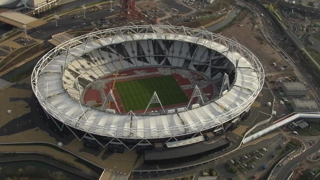Budoucí olympijský stadion v Londýně