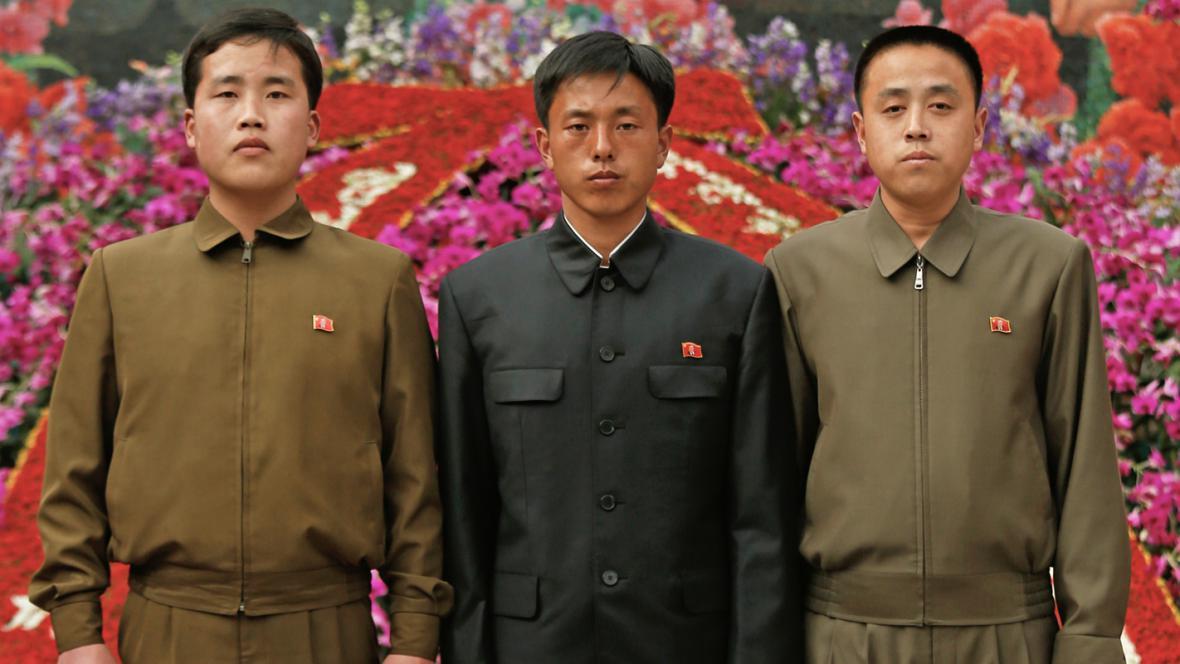 Výstava kimirsenií a kimčongilií v Pchjongjangu