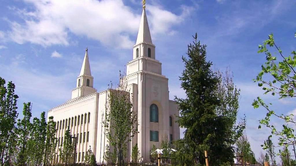 Mormonský kostel