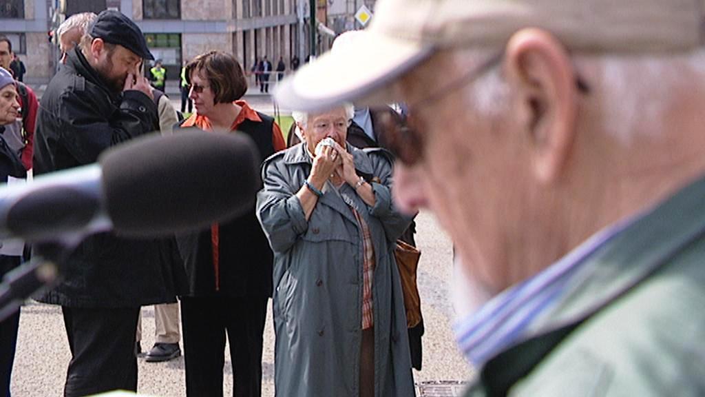 Předčítání jmen obětí holocaustu