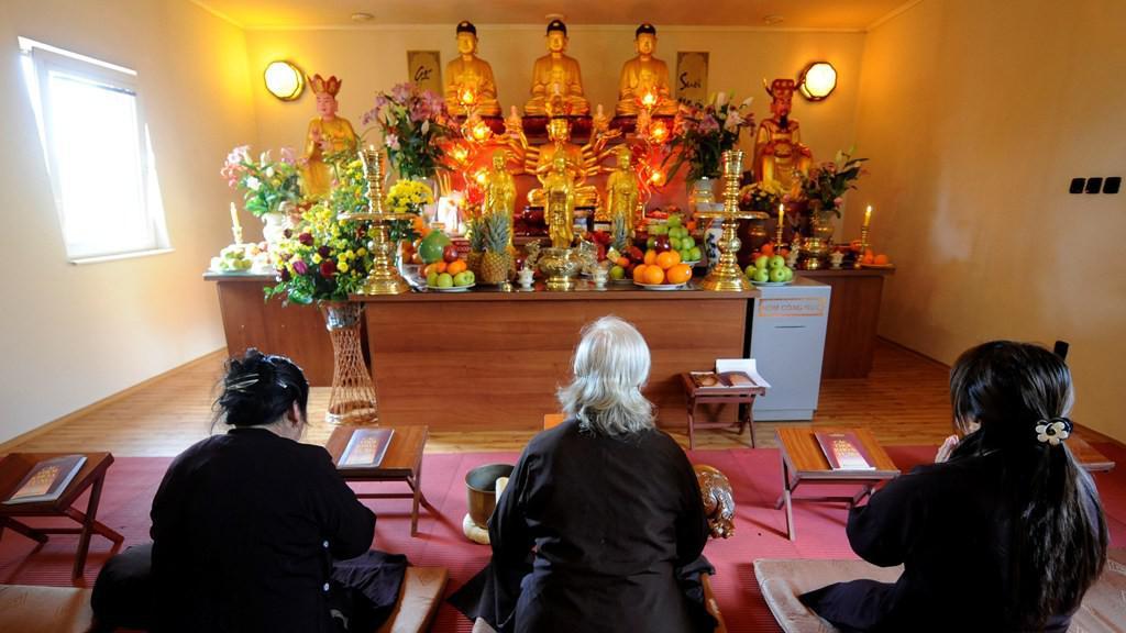Buddhistická svatyně