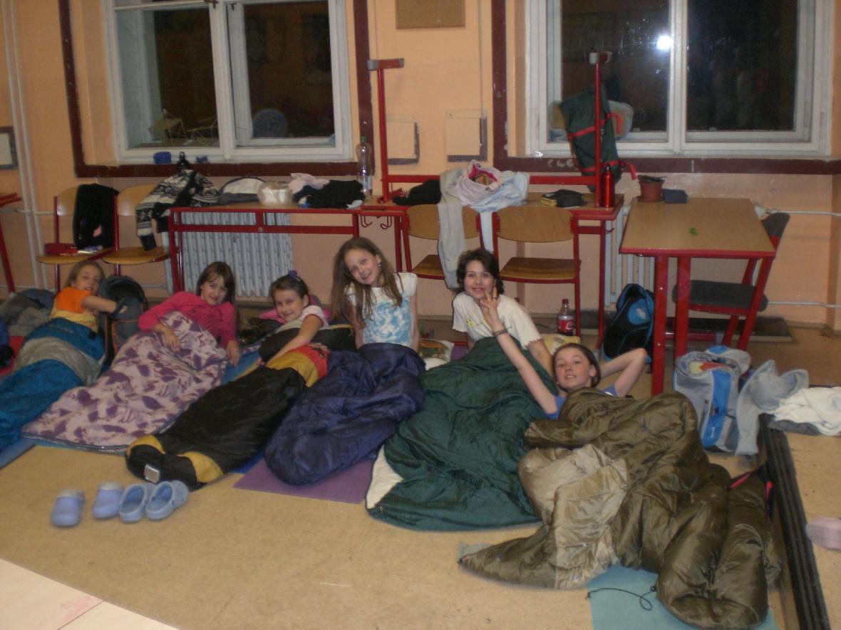Noc s Andersenem - ZŠ Strossmayerovo nám.