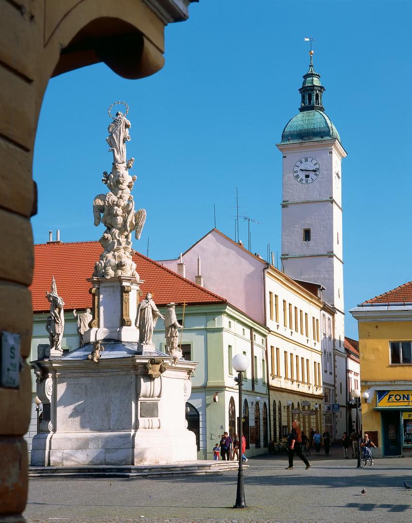 Uherské Hradiště - Mariánské náměstí